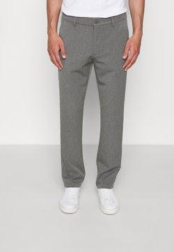Les Deux - COMO REG SUIT PANTS - Anzughose - grey melange