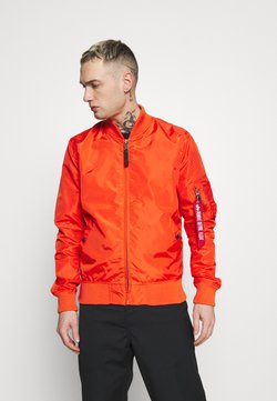 Alpha Industries - Giubbotto Bomber - atomic red