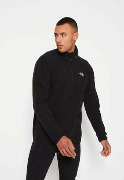 The North Face - MENS GLACIER 1/4 ZIP - Fleecepullover - black