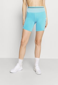 Nike Performance - EPIC LUXE SHORT - Trikoot - chlorine blue/limelight/silver