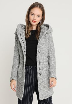 ONLY Petite - ONLSEDONA COAT - Kurzmantel - light grey melange
