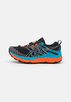 ASICS - TRABUCO MAX - Zapatillas de trail running - black/digital aqua