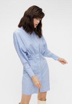 Object - OBJMACY BAT DRESS - Blusenkleid - serenity
