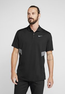 Nike Golf - DRY VAPOR REFLECT - Funktionsshirt - black/reflective silver