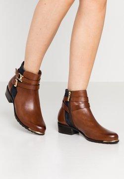 Caprice - Ankle Boot - cognac/ocean