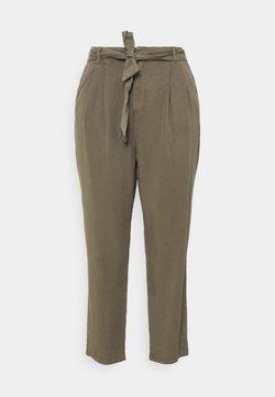 Vero Moda Curve - VMMIA LOOSE TIE PANT - Pantalon classique - bungee cord
