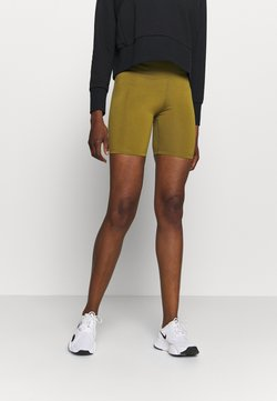 Nike Performance - ONE SHORT - Trikoot - olive flak/white