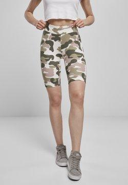 Urban Classics - TECH CYCLE  - Shorts - duskrose camo