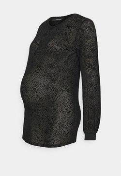 Supermom - DOTS - Camiseta de manga larga - black