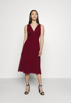 TFNC - ELOIS MIDI DRESS - Juhlamekko - burgundy