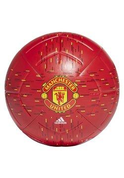 adidas Performance - MANCHESTER UNITED CLUB FOOTBALL - Fotball - red