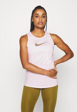 Nike Performance - DRY TANK FEMME - Tekninen urheilupaita - pink foam