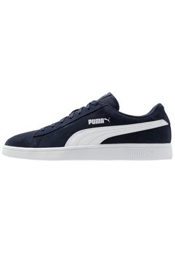 Puma - SMASH V2 UNISEX - Sneaker low - peacoat/white