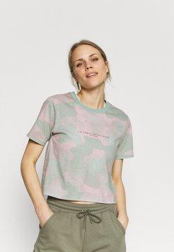 Columbia - PARK™ BOX TEE - Camiseta estampada - aqua tone