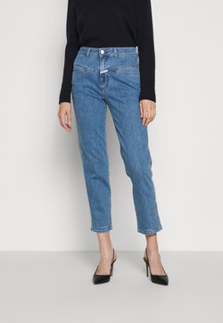 CLOSED - PEDAL PUSHER - Jeans Straight Leg - mid blue
