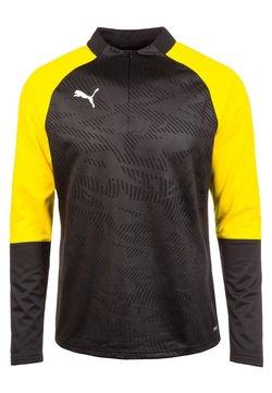 Puma - Funktionsshirt - black /  yellow