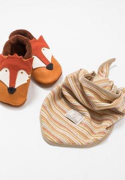 POLOLO - FUCHS SET - Chaussons pour bébé - castagno/orange