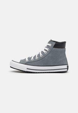 Converse - CHUCK TAYLOR ALL STAR UNISEX - Korkeavartiset tennarit - limestone grey/white/black