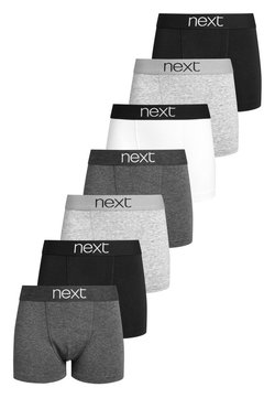 Next - 7 PACK MONO TRUNKS  (2-16YRS) - Shorty - black