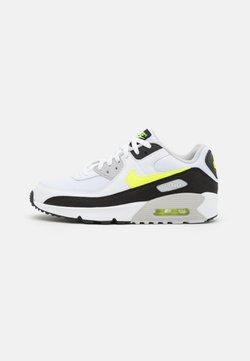Nike Sportswear - AIR MAX 90 UNISEX - Matalavartiset tennarit - white/hot lime/black/neutral grey