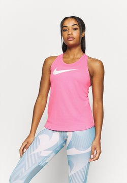 Nike Performance - RUN TANK - Camiseta de deporte - pink glow/white
