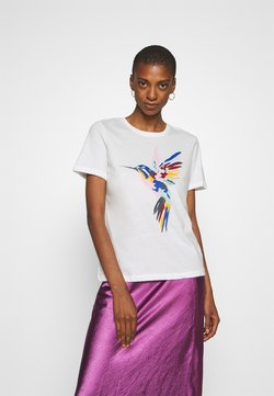 Anna Field - T-shirt z nadrukiem - white