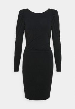 DESIGNERS REMIX - STRETCH SLEEVE DRESS - Vestido ligero - black