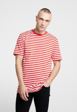 Only & Sons - ONSJAMIE LIFE SS STRIPE REG TEE NOO - T-Shirt print - high risk red