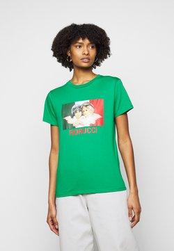 Fiorucci - RACING ANGELS TEE - T-Shirt print - green