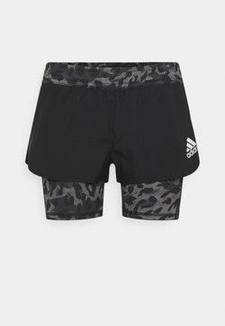 adidas Performance - kurze Sporthose - black/grey four