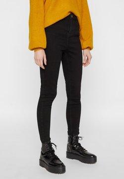 Pieces - SKINNY FIT  - Jeans Skinny Fit - black denim