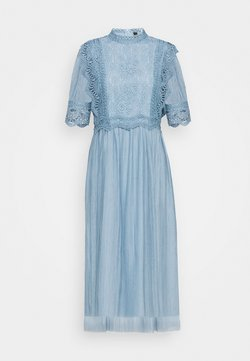 YAS - YASSOPHIA MIDI DRESS - Cocktailkleid/festliches Kleid - dusty blue