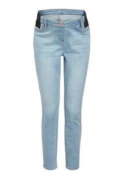 Next - DENIM GREY MATERNITY SUPER SOFT - Jeansy Skinny Fit - off-white