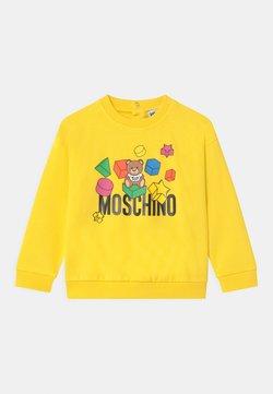 MOSCHINO - UNISEX - Sweatshirt - cyber yellow