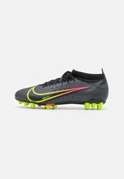 Nike Performance - MERCURIAL VAPOR 14 PRO AG - Voetbalschoenen met kunststof noppen - black/cyber/off noir