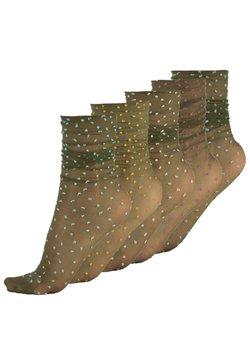 Calzitaly - 5 PACK - Socken - olive green