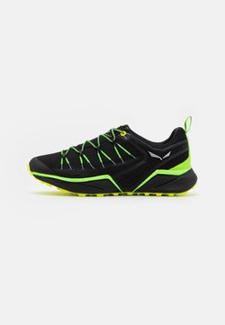 Salewa - DROPLINE - Hikingschuh - fluo green/fluo yellow