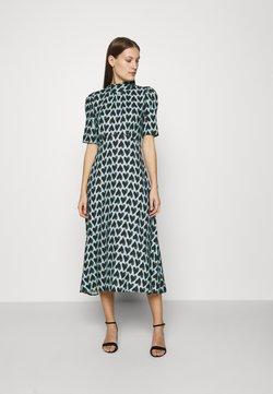 Closet - TIE BACK A-LINE DRESS - Vestido informal - blue