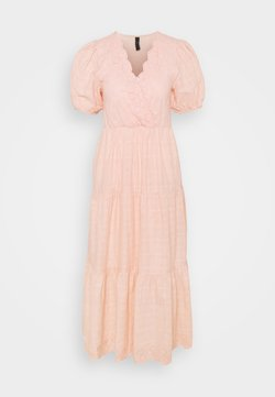 YAS - YASFIELLA LONG DRESS - Maxikleid - peach melba