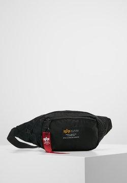 Alpha Industries - CREW WAISBAG - Saszetka nerka - black
