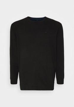 TOM TAILOR MEN PLUS - Pullover - black