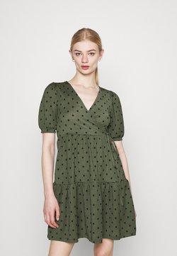 Gina Tricot - TUVA DRESS - Jerseykleid - green