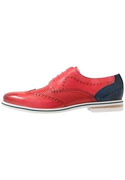Melvin & Hamilton - SCOTT - Zapatos con cordones - ruby