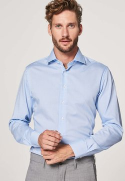 PROFUOMO - SLIM FIT - Businesshemd - blauw wit