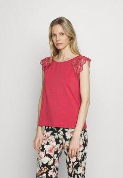 Esprit - Camiseta estampada - garnet red