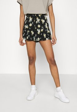 Hollister Co. - Shorts - black floral