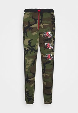 Jordan - CAMO  PANT - Pantalon de survêtement - medium olive/black