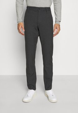 Selected Homme - SLHSLIM STORM FLEX SMART PANTS - Stoffhose - dark grey