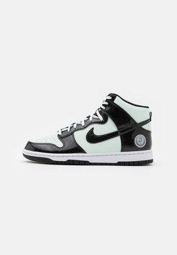 Nike Sportswear - DUNK - High-top trainers - barely green/black/white
