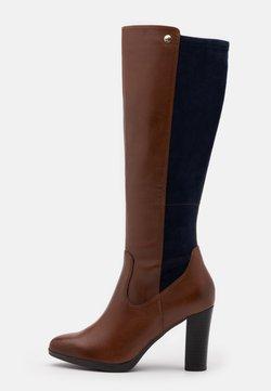 Caprice - BOOTS - High Heel Stiefel - cognac